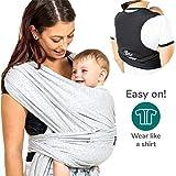 b42d3da4e1 Koala Babycare Fascia porta bambino facile da indossare (easy on),  regolabile unisex