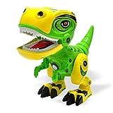 Giocattolo Di Dinosauro, Giocattolo Elettronico Di Dinosauro Robot, Decorazione Di Animali Giocattolo Dino, Dinosauro Giocattolo Di Costruzione Con Luci E Suoni, Regalo Interattivo Per Bambini
