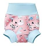 Splash About New Improved Happy Nappy, Pannolino da Nuoto Riutilizzabile Unisex-Baby, Arca di Nina, 2-3 Anni