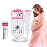 Doppler Fetale, Monitor Fetale Doppler, Monitor Del Cuore Del Bambino per La Gravidanza(con Gel)