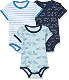 Care Body Bimbo 0-24, pacco da 3 o pacco da 6, Blu (Light blue 700), taglia 80 cm