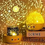 Luce Notturna Proiettore Bambini, Telecomando Luce Notte Bimbo con 6 Proiezione e 8 Musica, 360° Rotazione Stelle Lampada Proiettore per Neonati Bambini Compleanno Valentino Feste