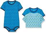 Care Body Bimbo 0-24, pacco da 3 o pacco da 6, Multicolore (Light Sky Blue 770), 86