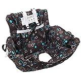 Badabulle Proteggi seggiolino carrello Copricarrello per bambini - Baby Protect - Nero, Come mostrato