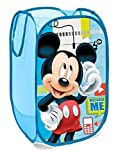 Superdiver Cestino Pieghevole con Manici Pop Up Topolino Disney Mickey Mouse