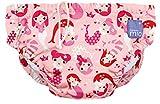 Bambino Mio SWPL MER Costumino Contenitivo Mutande Contenitive da Nuoto, 1 - 2 Anni, Multicolore (Sirene)