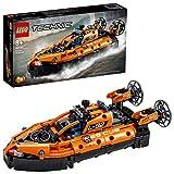 LEGOTechnicHovercraftdiSalvataggioeAereoBimotore,Giocattolo2in1,CostruzioniperBambinieBambine8+Anni,42120