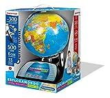 Clementoni - 11992 - Sapientino - Esploramondo Connect 2.0, globo interattivo, mappamondo con penna interattiva, gioco educativo elettronico bambini 7 anni (versione in italiano)