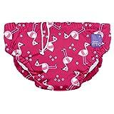 Bambino Mio SWPLPKFL Costumino Contenitivo Mutande Contenitive da Nuoto, 1 - 2 Anni, Multicolore (Fenicottero Rosa)