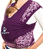 Porta il Tuo Bambino in Modo Sicuro & Intelligente - Portabebè Babypeta – Fascia Portabebè Morbido – Regalo Ideale Neonato - Marsupio Baby