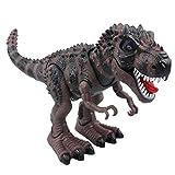 Yier® giocattoli elettronici grigio Walking Tyrannosaurus Rex dinosauro