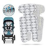 Komake - Rivestimento traspirante universale per passeggino, carrozzina, seggiolino e ovetto, riduce la sudorazione del bambino e protegge il coprisedile dalle macchie