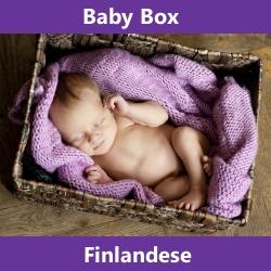 La baby box: in Finlandia i neonati dormono in scatole di cartone