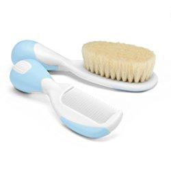 spazzola e pettine per neonati