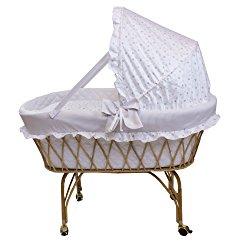 culla in vimini per neonati