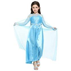 Vestito da Elsa e Anna di Frozen per bambina: per carnevale, ma non solo