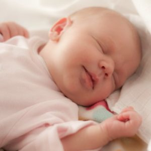 La posizione per la nanna del neonato