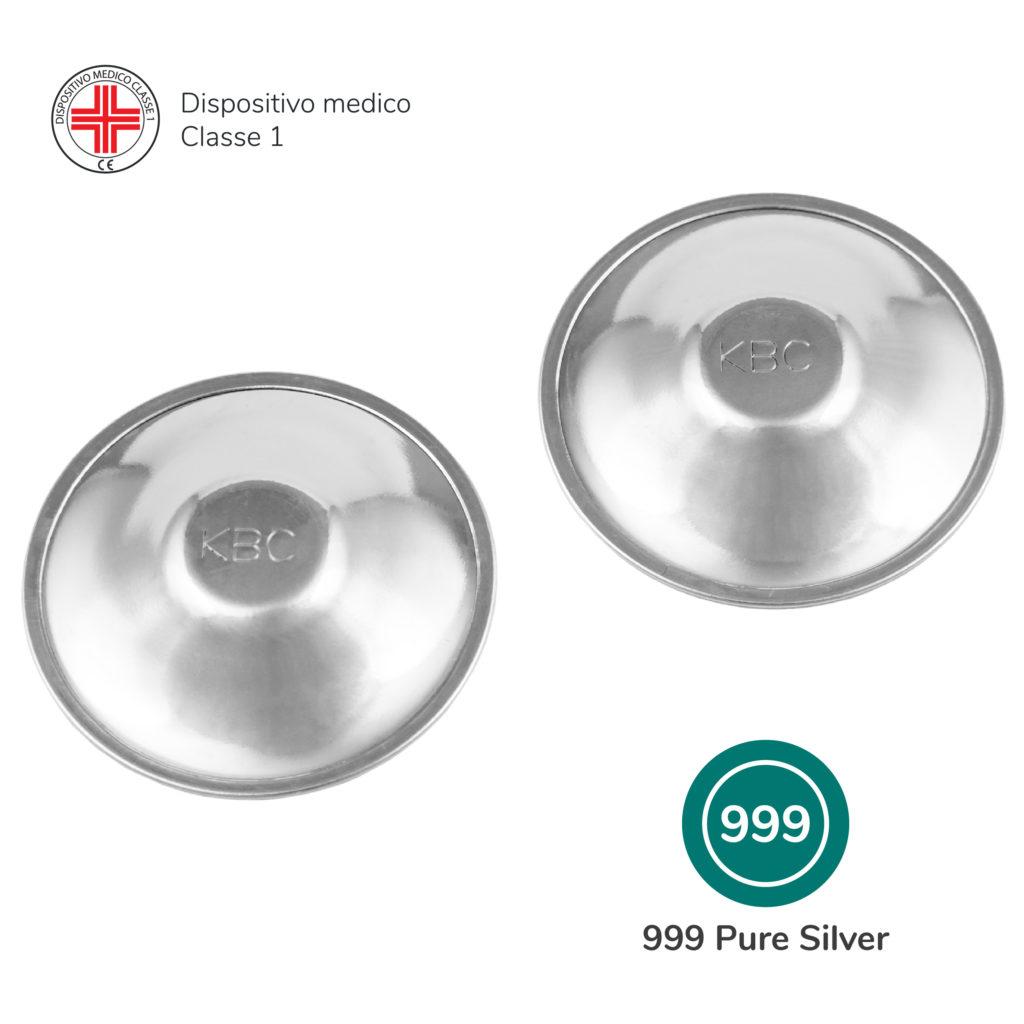 Paracapezzoli Silver Cups in argento puro 999